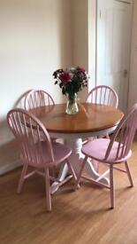 Farmhouse style table & chairs