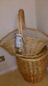 Large wicker basket brand new