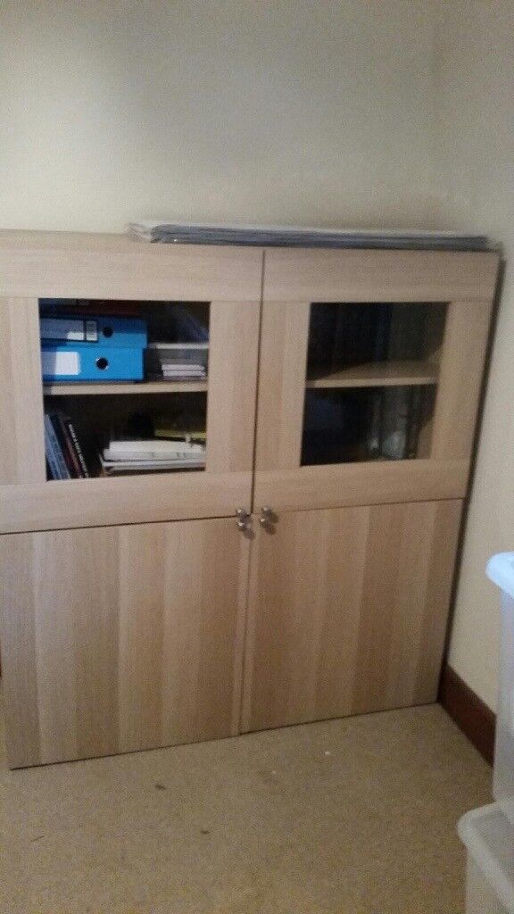 Two Piece office/home storage unit