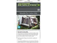 Outdoor revolution movelite pro carbon midi driveaway awning