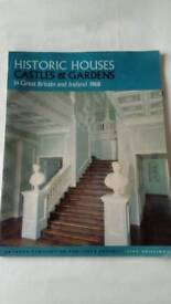 Vintage Catalogue of Historic Houses Castles & Gardens, in Gt Britain & Ireland.