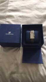 Swarovski watch in box excellent condition