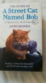 A Street cat named Bob in hardback