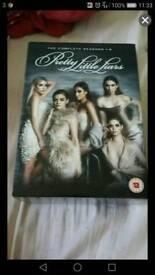 Pretty little liars seasons 1-6 dvd
