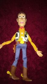 Talking woody doll