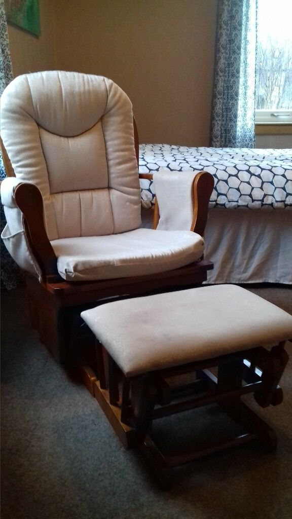 Babylo Gliding Rocking Feeding Chair
