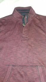 Men's Burgundy Sweatshirt – Medium