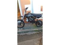 125cc Stomp Pitbike.