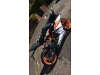 Ktm rc 125 2016 quick sale
