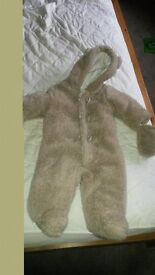 6-9m pram suit