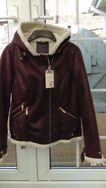 Womens jacket, flying type, brand new with tag