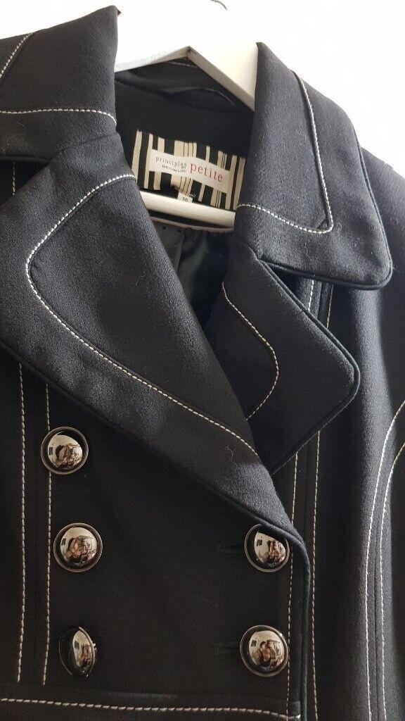 detailed look beauty good quality Black Ben de Lisi coat £20- Debenhams | in Ipswich, Suffolk | Gumtree