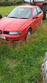 Seat leon 1.6 breaking all parts
