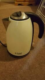 Cream Russel Hobbs kettle