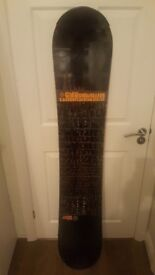 Gnu Carbon High Beam Snowboard 161W wide Lib Tech Credit 161 mens