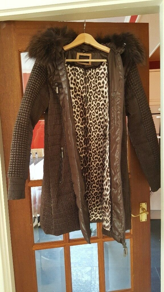 Never been worn amazon couture coat size 12