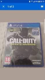 Call of duty infinite warfare PlayStation 4 new sealed