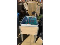 Outdoor/indoor mancave style football table
