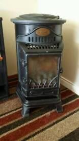 Provence cast iron gas room heater