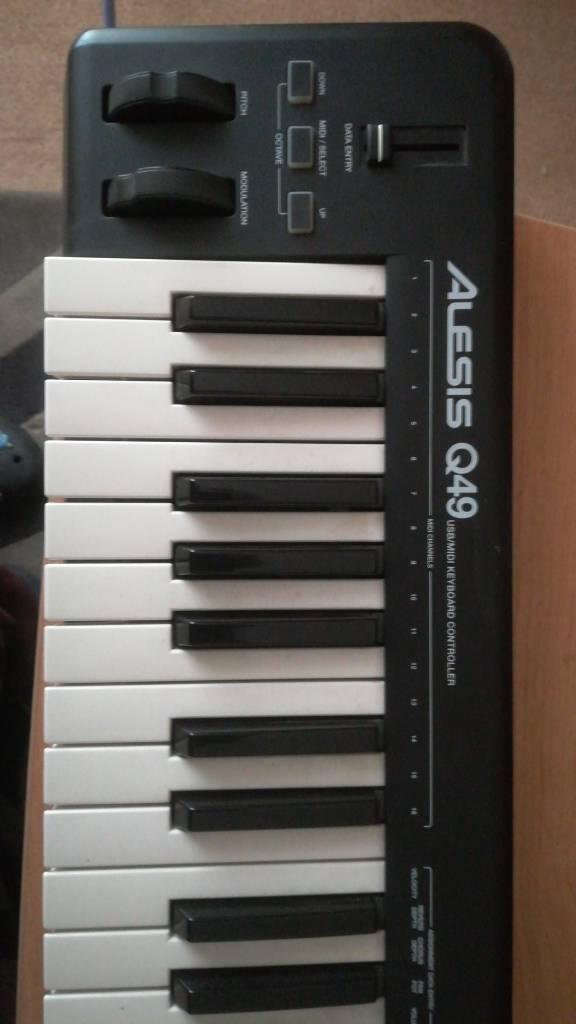 Alesis Q49 Usb/Midi Keyboard Controller