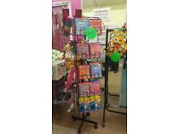 Shop display rack ideal for books or cards