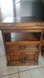 Indian Hardwood TV Cabinet