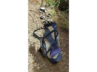 Golf Clubs including titleist irons and mizuno driver