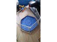 BabyDan BabyDen Playpen with a BRAND NEW Playmat