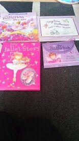 Ballerina books x 4: ideal xmas present.