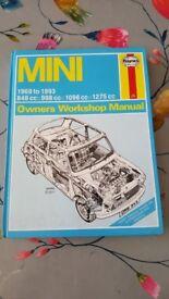 1969 to 1993 Mini Owners workshop manual