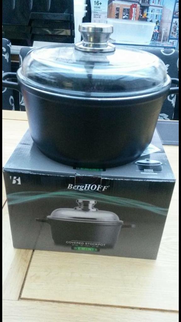 Berghoff cast aluminium stock pot