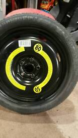 Vw spare tyre equipment