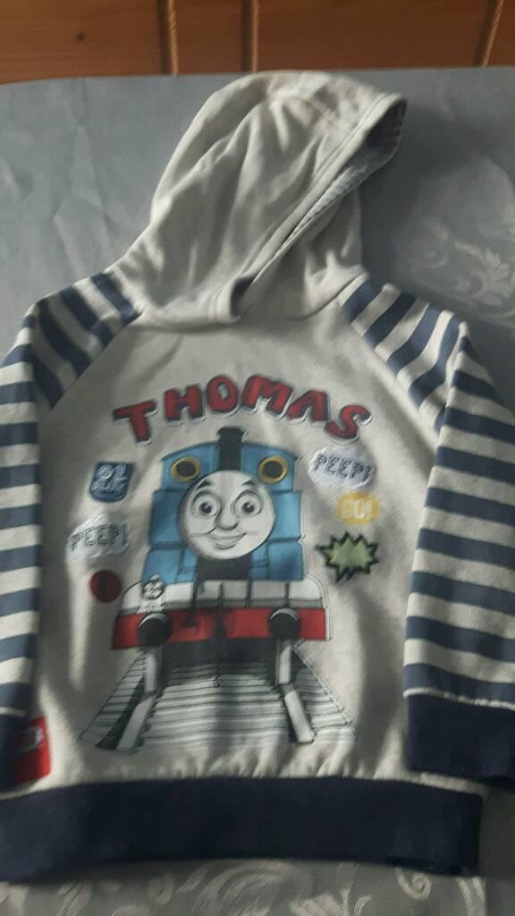 Thomas hoodie age 4-5 years