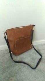 Dune London Handbag (brown, large size)