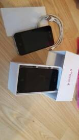 2 x iphone 4 with box stickers andcable