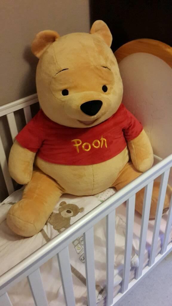 Giant Pooh Bear Teddy | in Blantyre, Glasgow | Gumtree
