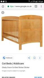 Toddlers/Baby Cot