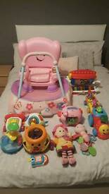 Kids toys (everything £5 or under apart from train and keyboard