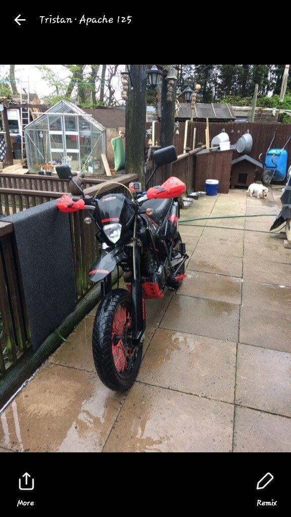 125cc nice bike runs and rides fine £700 ovno