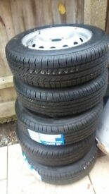 5 BRAND NEW TYRES 175/70/R14