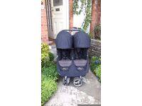 City mini double buggy - used but full working order