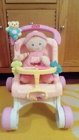 Baby stroller with doll Fisher Price