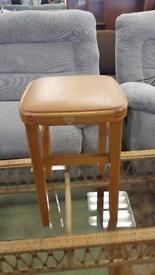 Vintage Kitchen Stool In Great Vintage Condition