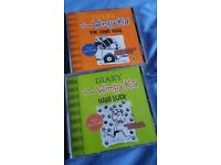 Diary of a Wimpy Kid 2 double cds Hard luck & The long Haul