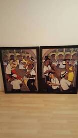 Song and Dance Diptych Prints