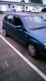 Vauxhall corsa 2001 year 1.2 engine for sale