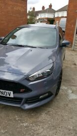 Stealth grey Ford focus ST. Fsh.Mot. Vgc. Leather interior. All bells and whistles.