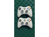 2 x Official Xbox 360 Wireless controllers