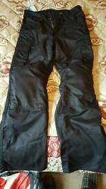 Akito textile bike trousers 32r