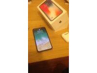 IPhone X 256gb, Space grey (baiscally black)
